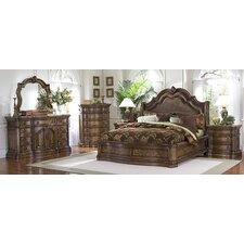 <strong>Pulaski Furniture</strong> San Mateo Wingback Bedroom Collection