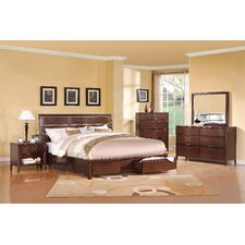 Cassara Panel Bedroom Collection