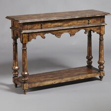 <strong>Pulaski Furniture</strong> Rustic Distressed Chic One Drawer Console Table
