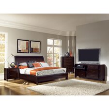 <strong>Pulaski Furniture</strong> Amaretto Sleigh Bedroom Collection