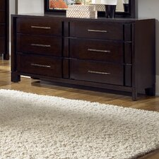 Amaretto 6 Drawer Dresser