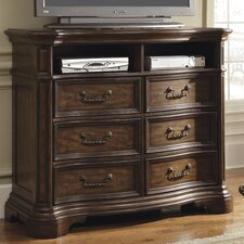 Courtland 6 Drawer Media Chest