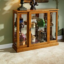 <strong>Pulaski Furniture</strong> Keepsakes Console Curio Cabinet