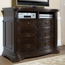 Cassara 6 Drawer Media Chest