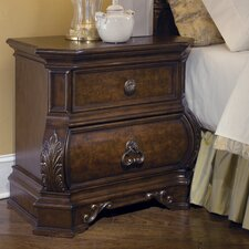 Wellington Manor 2 Drawer Nightstand