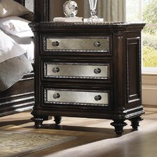 Reflexions 3 Drawer Nightstand