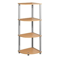 "44"" Four Corner Shelf Shelving Unit"