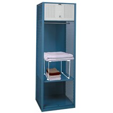2 Tier 1 Wide Contemporary Locker