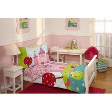 4 Piece Fairytale Toddler Bedding Set