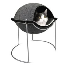 Pod Cat Bed in Herringbone