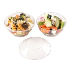 Round 4 oz. Deli Cups with Lids (100 Count)