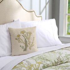 Ambrosia Linen Throw Pillow I