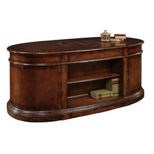 Marseille Credenza Desk with 2 File Drawers
