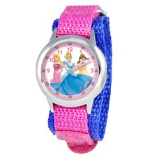 Kid's Princess Time Teacher Watch in Pink