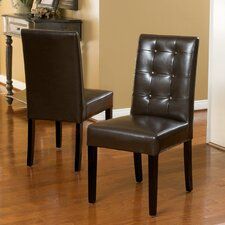 Roland Leather Dining Chairs (Set of 2)