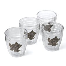 Animals and Wildlife Sea Turtle 12 oz. Insulated Tumbler (Set of 4)
