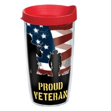 Veteran 16 oz. Wrap Proud Insulated Tumbler (Set of 2)