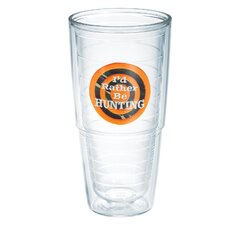 I'd Rather Be 24 oz. Hunting Insulated Tumbler (Set of 2)