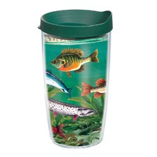 Multi Fish 16 oz. Wrap Insulated Tumbler (Set of 4)