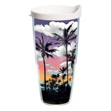 Palm Tree 24 oz. Wrap Insulated Tumbler (Set of 2)