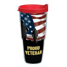 Veteran 24 oz. Wrap Proud Insulated Tumbler (Set of 2)