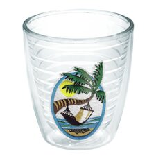 Palm Hammock Sun 12 oz. Insulated Tumbler (Set of 4)