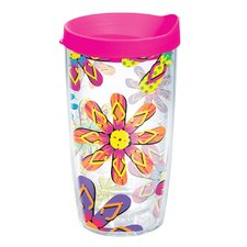 Flip Flop 16 oz. Wrap Insulated Tumbler (Set of 2)