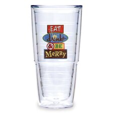 <strong>Tervis Tumbler</strong> Drink and Be Merry 24 oz. Tumbler (Set of 2)