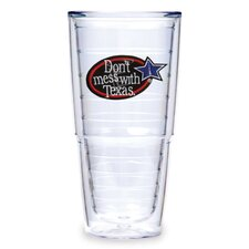 Don't Mess with Texas 24 oz. Insulated Tumbler (Set of 2)