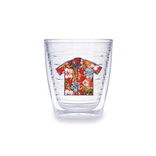 Hawaii 12 oz. Shirt Red Tumbler (Set of 4)