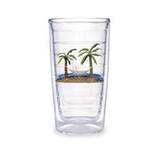 Palm and Hammock 16 oz. Tumbler (Set of 4)