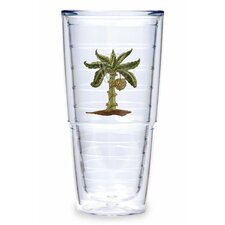 Banana Palm 24 oz. Insulated Tumbler (Set of 2)