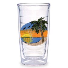 Palm Tree Scene 10 oz. Tumbler