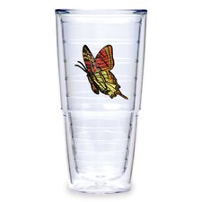<strong>Tervis Tumbler</strong> Butterfly 24oz. Yellow Orange Tumbler (Set of 2)