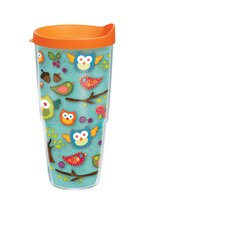 24 Oz. Wrap Owls Lora Tumbler (Set of 2)
