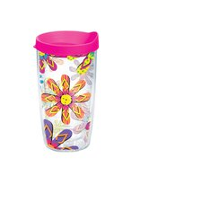 16 Oz. Wrap Flip Flop Tumbler (Set of 4)