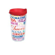 16 Oz. Wrap Cheers Tumbler (Set of 4)