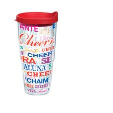 24 Oz. Wrap Cheers Tumbler (Set of 2)