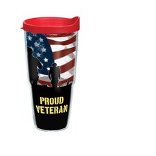 24 Oz. Wrap Proud Veteran Tumbler (Set of 2)
