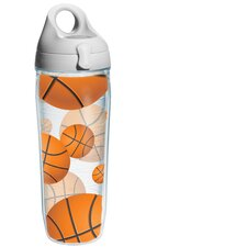 <strong>Tervis Tumbler</strong> Wrap Basketballs Water Bottle