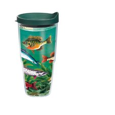 24 Oz. Wrap Multi Fish Tumbler (Set of 2)