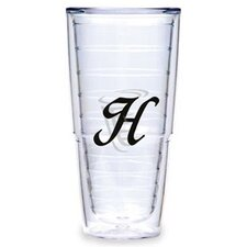 <strong>Tervis Tumbler</strong> Black Laser Twill H 24 oz. Big-T Tumbler (Set of 2)