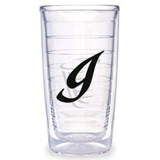 Initials Laser Twill 16 oz. Insulated Tumbler (Set of 4)