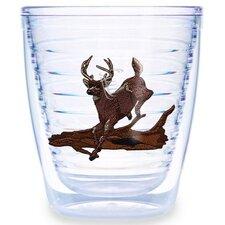 Animals and Wildlife Deer Running 12 oz. Insulated Tumbler (Set of 4)
