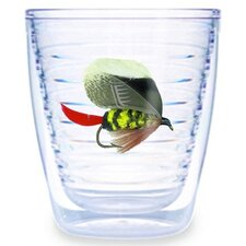 Fish Flies Brown 12 oz. Tumbler (Set of 4)