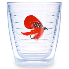 Fish Flies Red 12 oz. Tumbler (Set of 4)