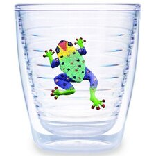Tropical and Coastal Frog 12 oz. Insulated Tumbler (Set of 4)