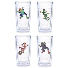 <strong>Tervis Tumbler</strong> Gecko / Frog Assorted 16 oz. Tumbler (Set of 4)