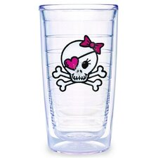 <strong>Tervis Tumbler</strong> Girl Skull and Crossbones 16 oz. Tumbler (Set of 2)
