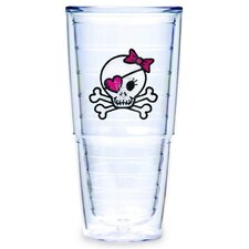 Girl Skull and Crossbones 24 oz. Big-T Tumbler (Set of 2)